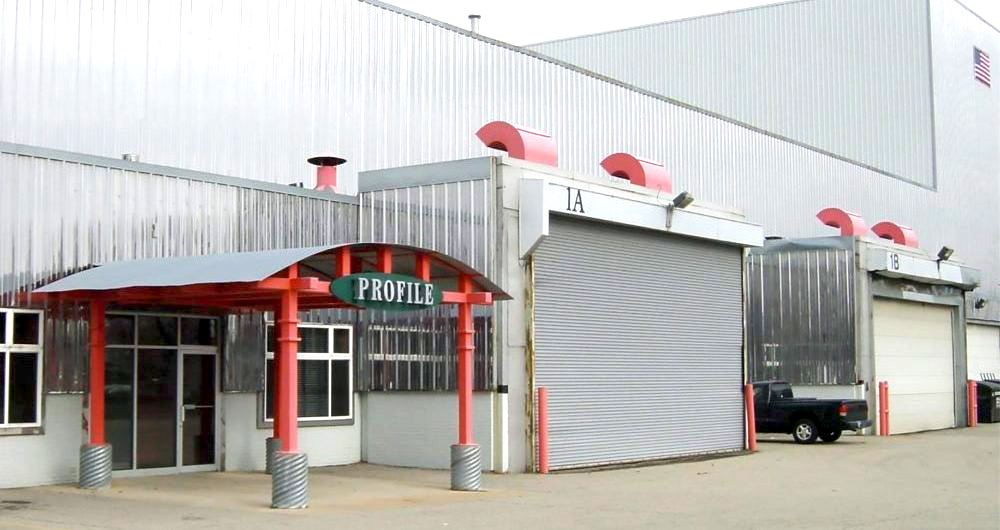 Profile's Original Facility from 1998 to 2015.